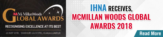 IHNA receives, McMillan Woods Global Awards 2018